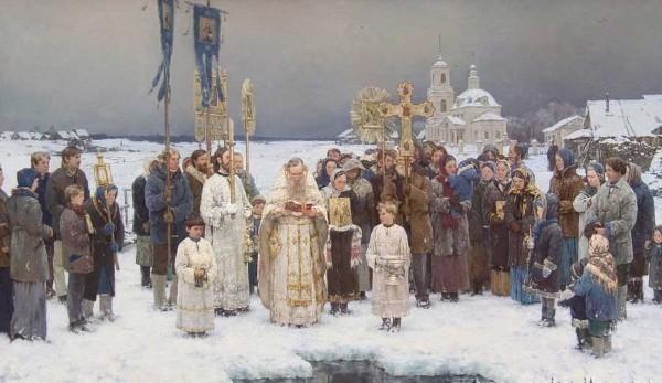 Антон Овсяников. Крещение