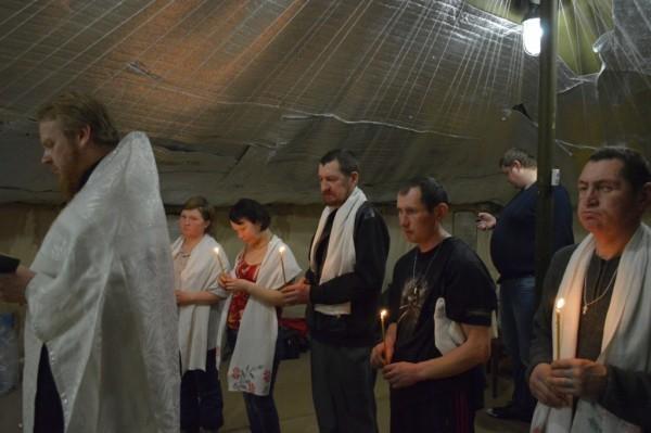 В Ижевске пять подопечных пункта обогрева приняли крещение