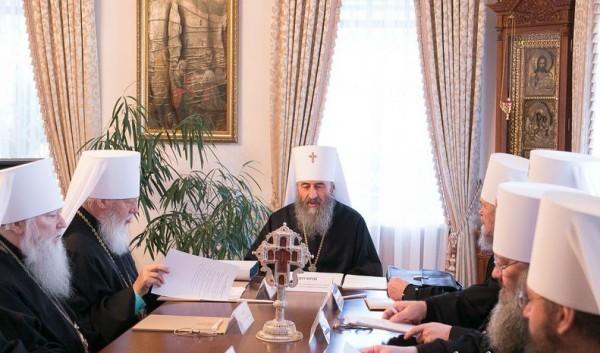 В Киеве прошло заседание Синода Украинской Православной Церкви