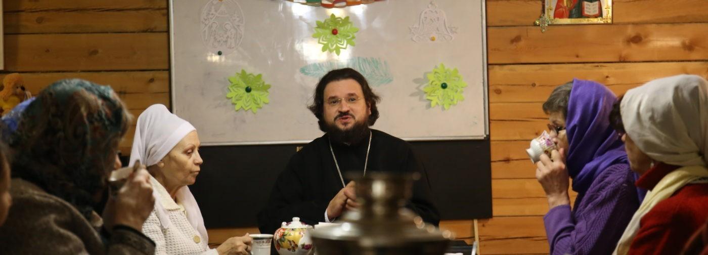 В антикафе с епископом