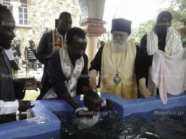 Массовое крещение совершено в Конго (+фото)