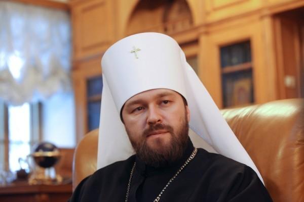 Митрополит Иларион ответил на вопросы сербской газеты
