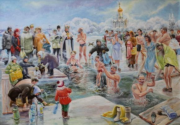 Крещение Господне для детей: загадки, стихи, видео