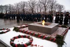 В память о жертвах блокады Ленинграда в храмах совершены богослужения