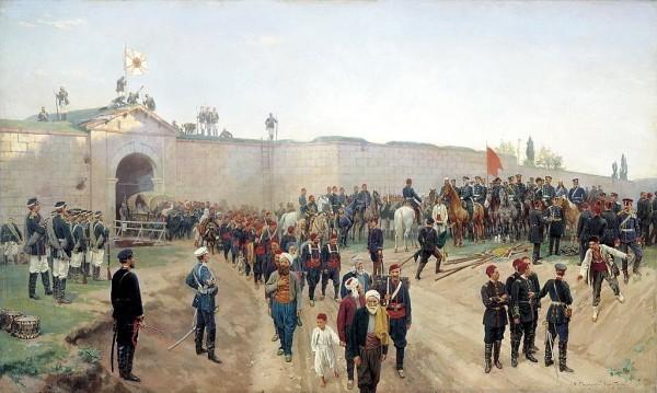 Сдача крепости Никополь 4 июля 1877 года, Николай Дмитриев-Оренбургский (1883)