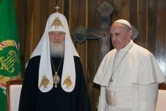 Церкви призваны отстаивать требования справедливости, уважения к традициям народов  – заявление Патриарха и Папы