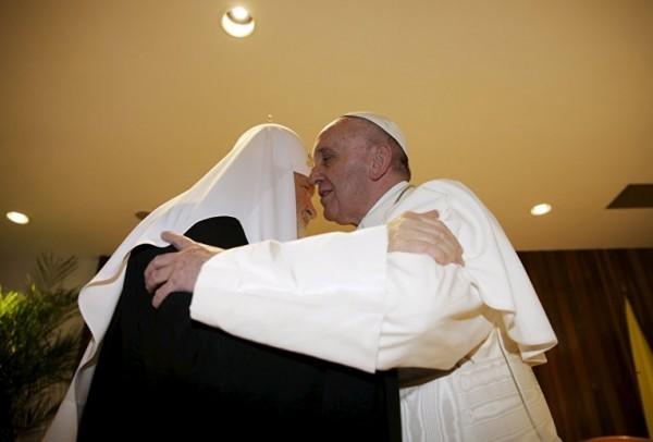 Папа Римский Франциск: В этом диалоге я чувствовал присутствие Духа Святого
