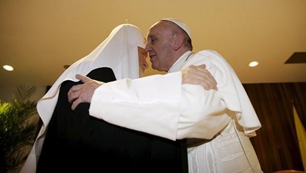 Патриарх Кирилл и Папа Франциск призывают не бояться идти против течения, отстаивая правду Божию