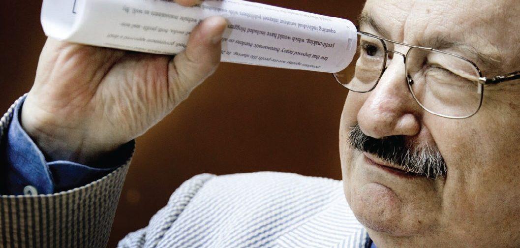 Умберто Эко: Мудр, кто отбирает и сочетает проблески света