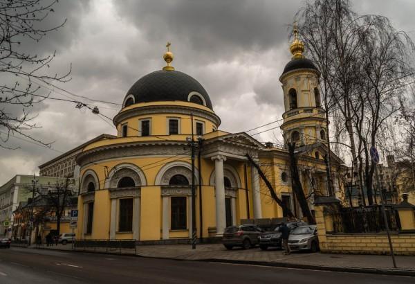 Скорбященская церковь на Большой Ордынке