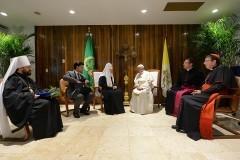 Пресс-секретарь Патриарха о встрече Патриарха Кирилла и Папы Римского