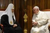 Встреча Патриарха Кирилла с Папой Римским Франциском (ФОТО)