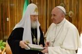 Ольга Седакова о совместном заявлении Патриарха и Папы