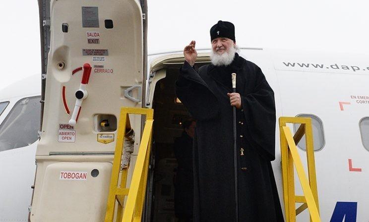 Патриарх Кирилл - о встречах с Папой и Кастро, ЧП в самолете, пингвинах и других впечатлениях от Латинской Америки