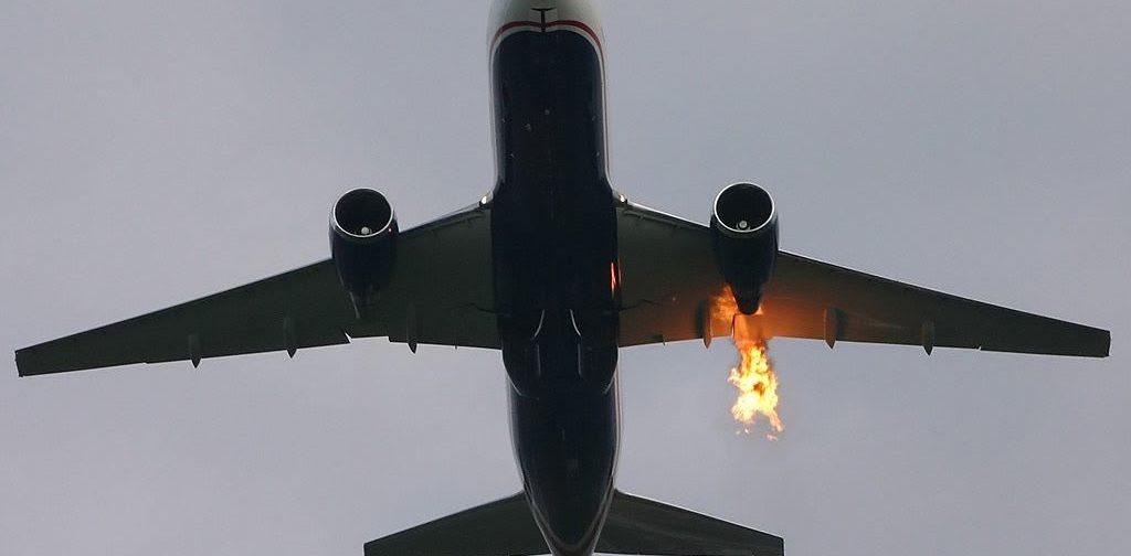 Казалось, что самолет врезается в бетонную стену