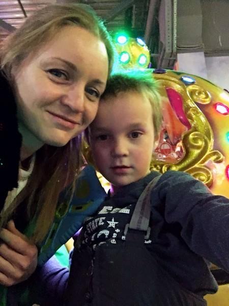 Светлана Покровская и Дима