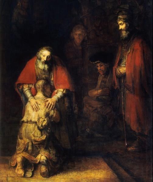 Картина Рембранта «Возвращение блудного сына»