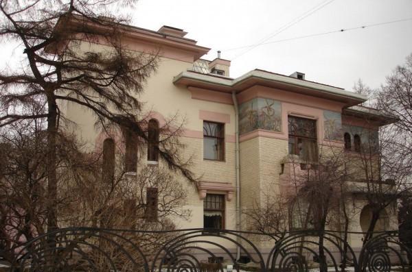 Московский особняк крупного предпринимателя Степана Павловича Рябушинского, построенный в 1900-1902 гг.