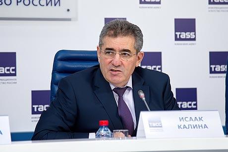 Исаак Калина, глава столичного департамента образования