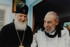 Патриарх Кирилл встретился с Фиделем Кастро (+видео)