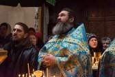 Литургия под угрозой обстрела: В монастыре Донецка впервые за два года совершено богослужение (+фото)