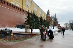 Патриарх помолился за воинов, отдавших жизнь за Родину