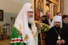 Патриарх Кирилл посетил православный храм в столице Бразилии (+фото)