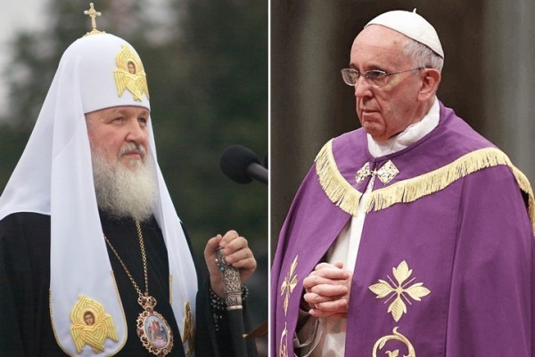 Патриарх Кирилл встретится с Папой Римским Франциском
