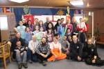 После спектакля с маленькими чилийскими полярниками и их родителями