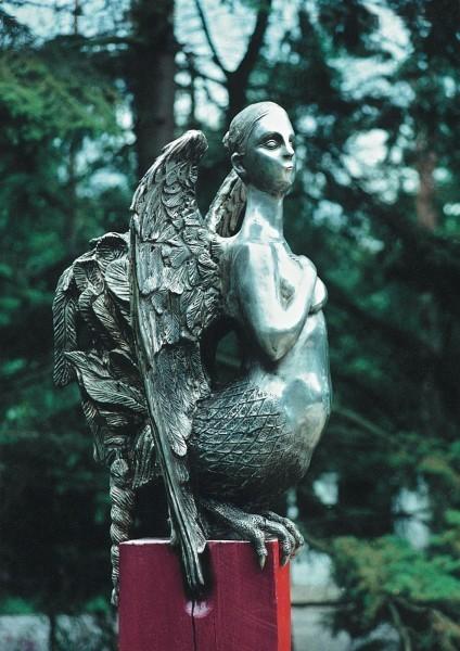 Птица Сирин, Кальмптхаут,  Бельгия. 1990