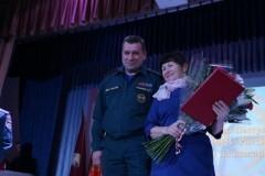 Крановщица Тамара Пастухова награждена медалью «За отвагу на пожаре»