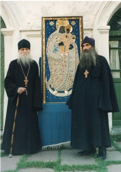 Со старцем Николаем Гурьяновым