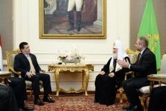 Патриарх Кирилл: Восток и Запад должны сообща бороться с терроризмом в Сирии