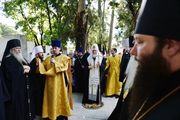 Предстоятель РПЦ почтил память русских офицеров, погибших на Чакской войне (+фото)