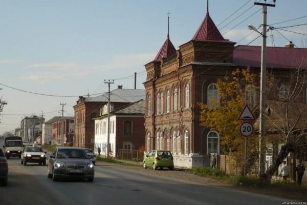 Моя родная первая школа в Камышлове