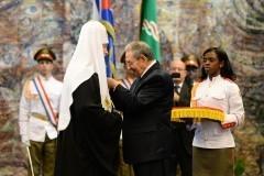 Предстоятель РПЦ удостоен госнаграды Кубы – ордена Хосе Марти
