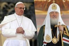 Историческая встреча. Патриарх и понтифик