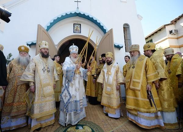 Патриарх Кирилл направит священника для служения в храм в Парагвае (+фото)