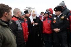 Глава РПЦ: Полярники подают пример всему миру
