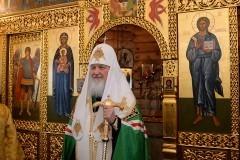 Патриарх Кирилл совершил  молебен на российской антарктической станции (+ фото)