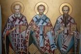 Церковь празднует Собор вселенских учителей и святителей Василия Великого, Григория Богослова и Иоанна Златоустого