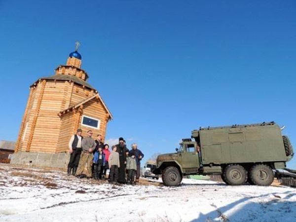 Новый храм в Каренге в честь всех сибирских святых