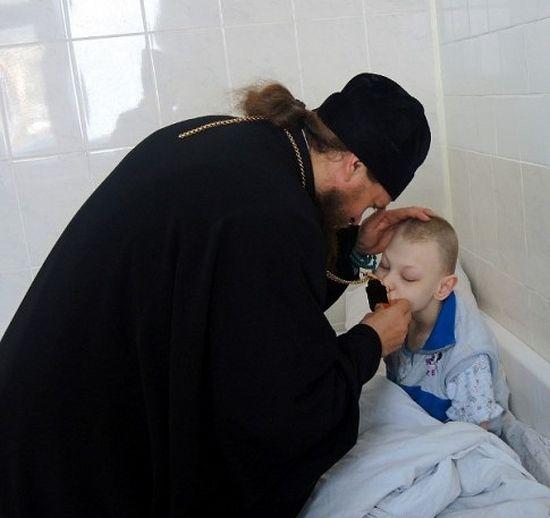 В детском туберкулезном санатории
