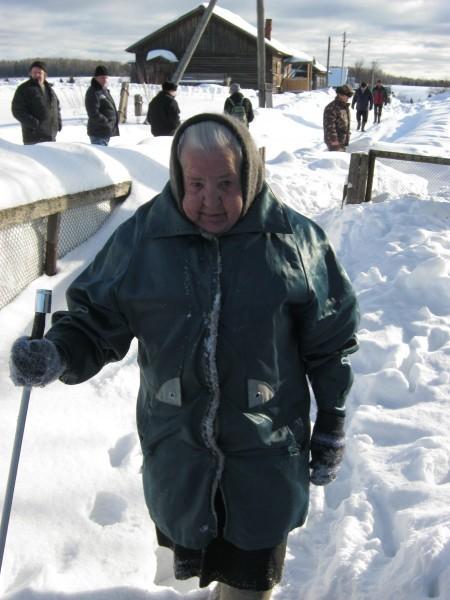 87-летняя Валентина Андреевна Тюляндина