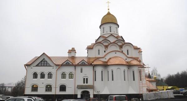 Патриарх освятит храм Александра Невского при МГИМО
