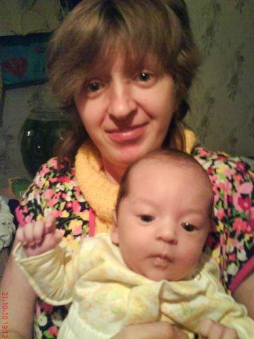 Наталья Сизова с сыном