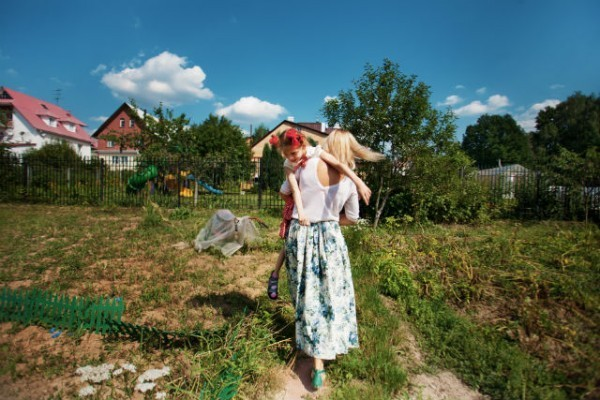 Юлия Бондарева и Дана. Фото: Анастасия Кулагина