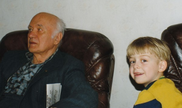 Борис (5-е поколение) и Владимир (9-е поколение) Раушенбах