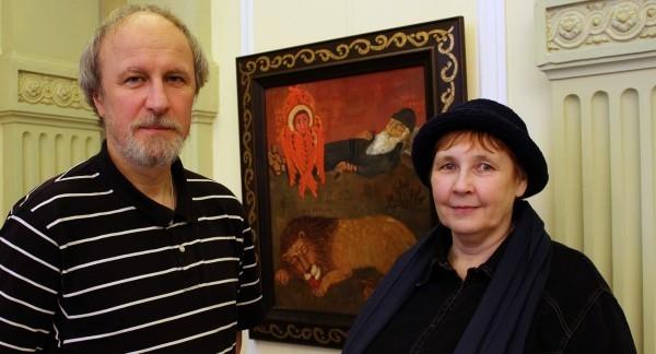 Священник Константин Камышанов и Елена Черкасова