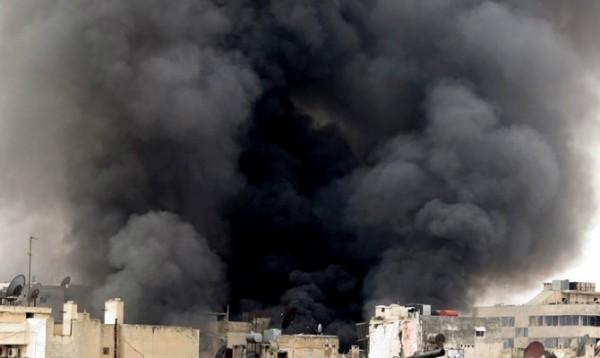 Террористка подорвала себя возле храма в Сирии